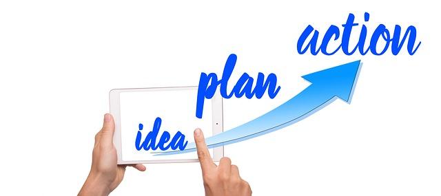 Plano de ação do primeiro negócio online