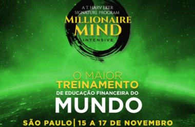 MMI – Maior Treinamento do Mundo em Educação Financeira chega a São Paulo[Nov. 2019]
